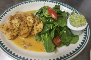 Sauteed Chicken with Spinach Salad - delivery menu