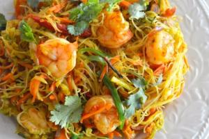 Singaporean Noodles - delivery menu