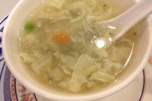 Egg Flower Soup - delivery menu