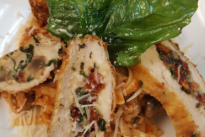 Stuffed Chicken Parmesan - delivery menu