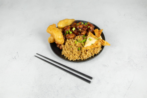 General Gau's Chicken Combo Special - delivery menu
