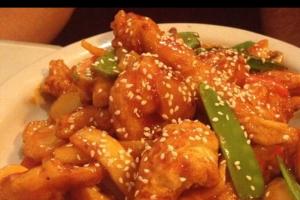 Double Sesame Delight (Chicken & Shrimp) - delivery menu