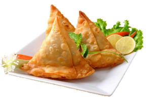 Vegetable Samosas(3) - delivery menu