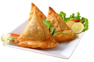 Vegetable Samosas(3) - delivery menu