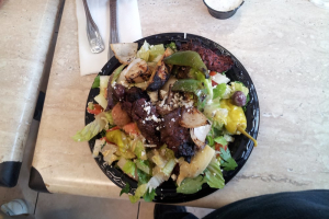 Souvlaki Salad - delivery menu