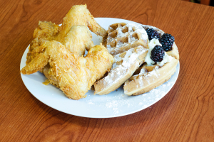 Fried Chicken & Waffles Breakfast - delivery menu