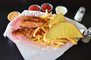 Chicken Strip Basket - delivery menu