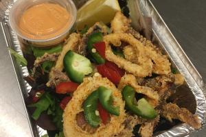 Fried Calamari w/ Salt & Pepper - delivery menu