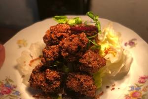 Spicy Pork Thai Falafel - delivery menu