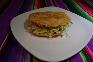 Quesillo Gordita - delivery menu