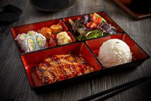Salmon Teriyaki Dinner Bento Special - delivery menu