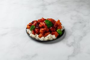 P22. General Tso's Chicken - delivery menu