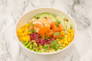 1. Aloha Favorite Poke Bowl - delivery menu