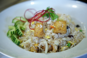 141. Pineapple Fried Rice with Tofu - delivery menu