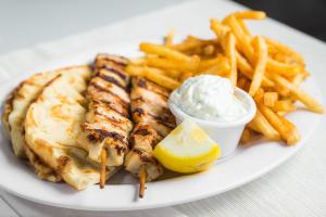 L7 - Two Chicken or Pork Sticks - delivery menu