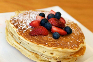 The Classic Pancake Stack - delivery menu