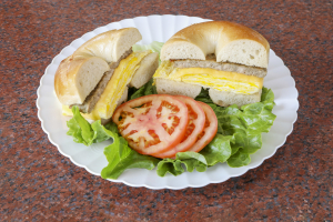4B. 2 Eggs, Any Style, with Cheese and Protein Breakfast Sandwich - delivery menu