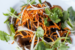Grass Flower and Woodear Mushrooms - delivery menu