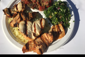 Grilled Chicken Breast Plate - delivery menu