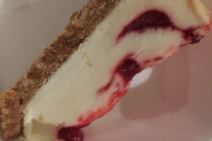D06. Strawberry Swirl Cheesecake - delivery menu