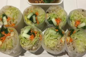 2. Fresh Spring Rolls - delivery menu