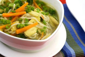 53. Vegetable and Noodle Soup - delivery menu