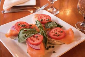 Norwegian Smoked Salmon Platter Brunch - delivery menu