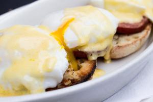 Eggs Benedict - delivery menu