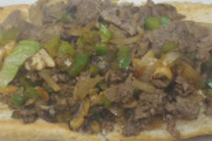 Philly Cheese Steak - delivery menu