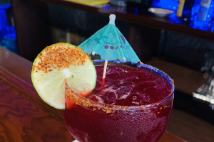 Hibiscus Margarita (12oz on the rocks or frozen) - delivery menu