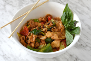 41. Basil Chicken - delivery menu