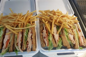 Turkey Club Sandwich - delivery menu