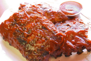 Rack of Baby Back Ribs - delivery menu