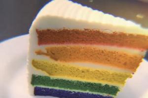 Rainbow Cake - delivery menu