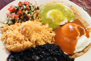Huevos Rancheros - delivery menu