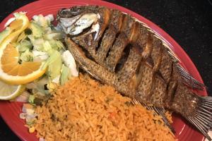 #46. Mojarra Frita - delivery menu