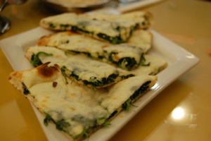Spinach Nan - delivery menu