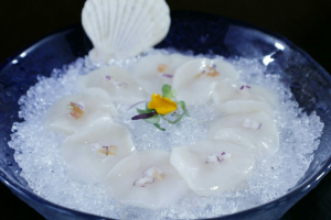 Scallop Carpaccio - delivery menu