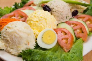 Combination Salad Platter - delivery menu