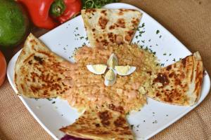 Pollo Desmechada Quesadilla - delivery menu