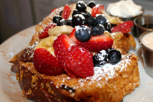 Crunchy French Toast Breakfast - delivery menu