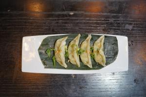 A2. Veggie Dumpling (5 Pieces) - delivery menu