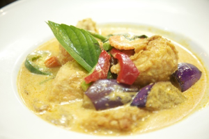 68. Salmon Curry - delivery menu