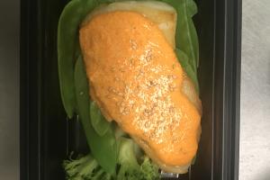 Seabass Motoyaki - delivery menu
