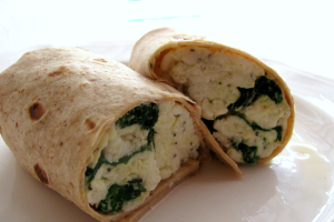 8B. Egg Whites Veggie Wrap - delivery menu