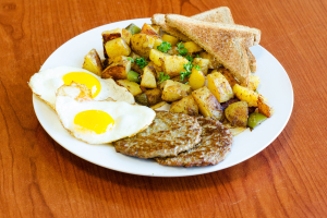 Home Fries Breakfast Platter - delivery menu