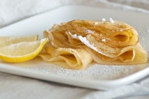 Lemon Sugar Crepe - delivery menu