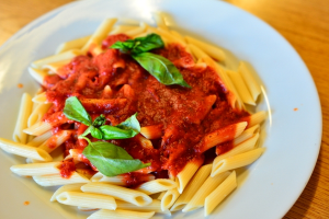 Pasta with Tomato Sauce - delivery menu