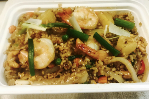 F4. Pineapple Fried Rice - delivery menu