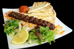 Ground Lamb Kubideh Kabob - delivery menu